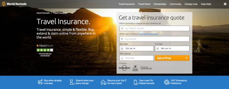 Getting Travel Insurance