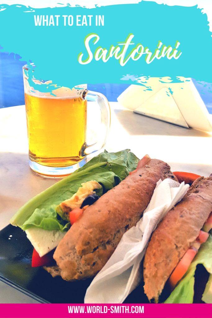 What to Eat on Santorini