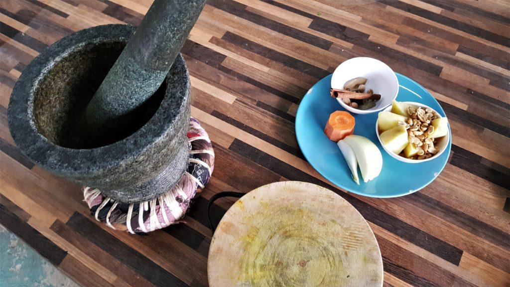Mama Noi Cooking School Massaman Curry