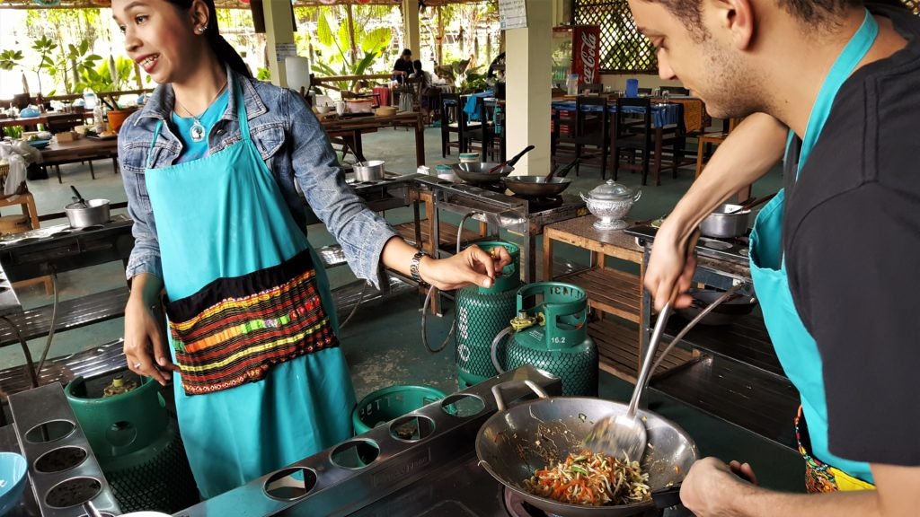 Chiang Mai Cooking Class - Spring Rolls