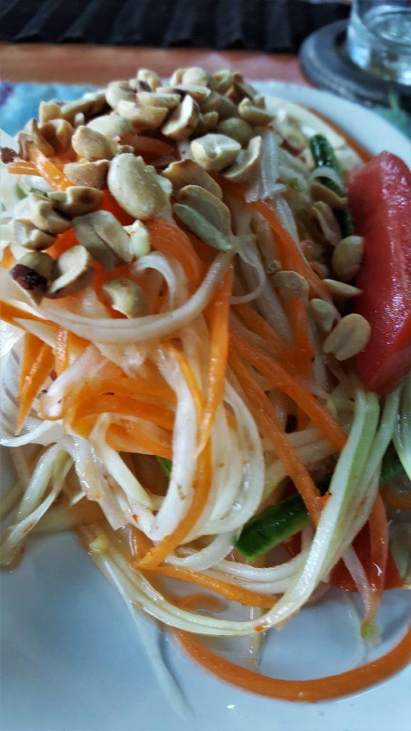 Mama Noi Cooking School - Green Papaya Salad