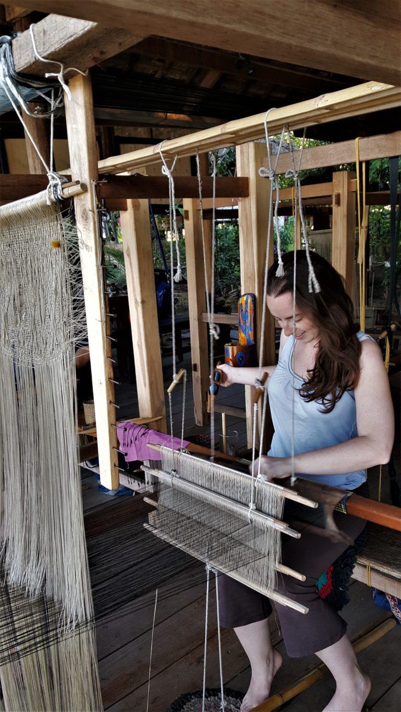 Weaving in Laos with Ock Pop Tock