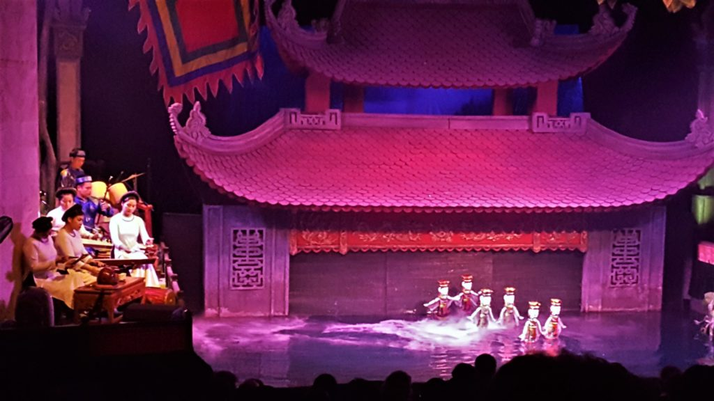 Things to Do in Hanoi | Go to a water puppet theatre performance