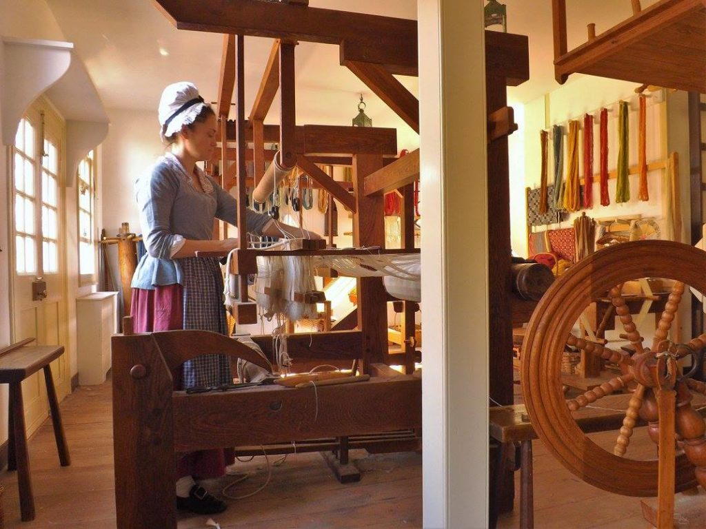 Colonial Williamsburg Weaver