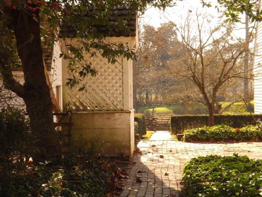 Gardens in Colonial Williamsburg