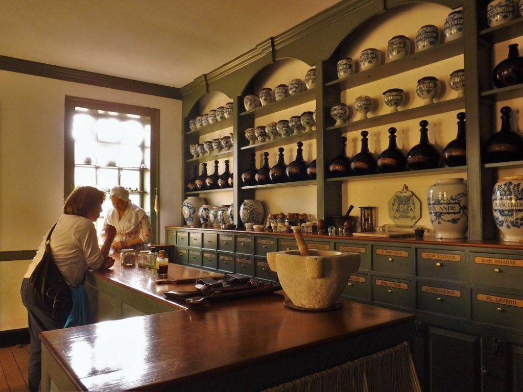 Apothecary at Colonial Williamsburg