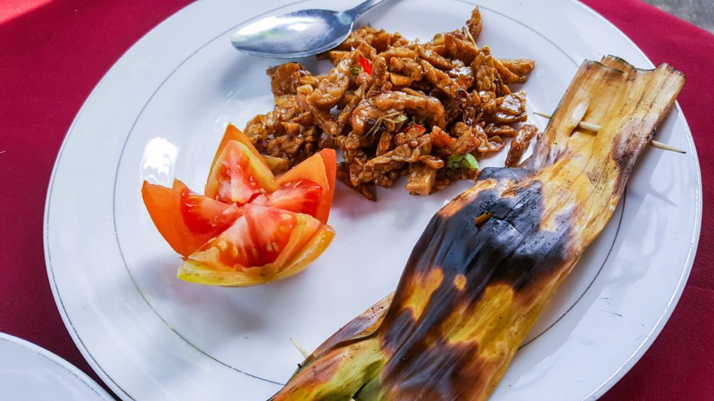 Pepes Tuna and Tempeh Manis - Ubud Cooking Class