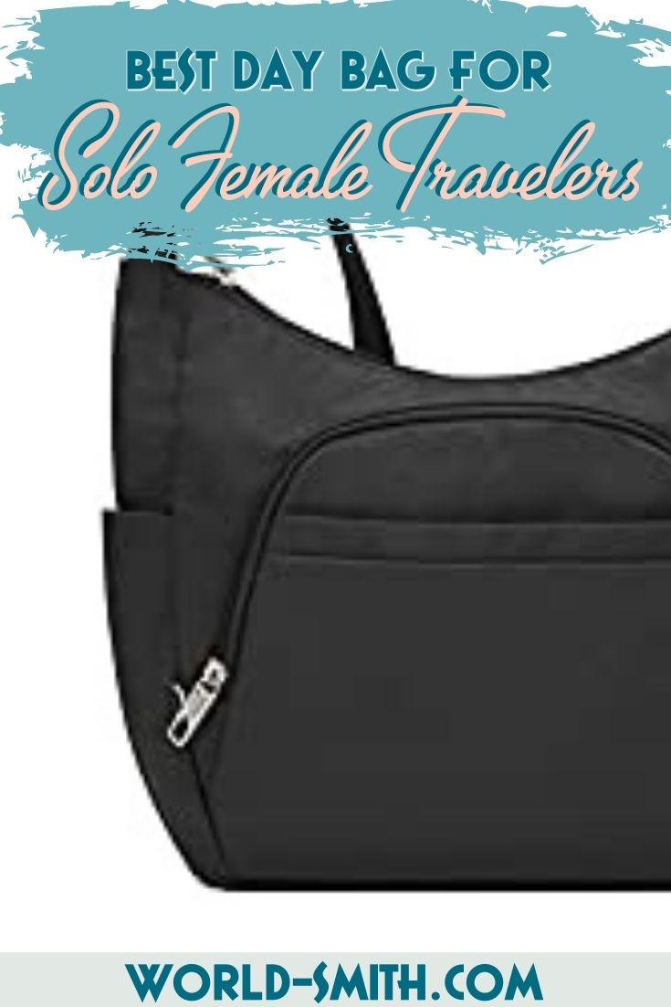 Pin this! The Best Day Bag for Solo Female Travelers