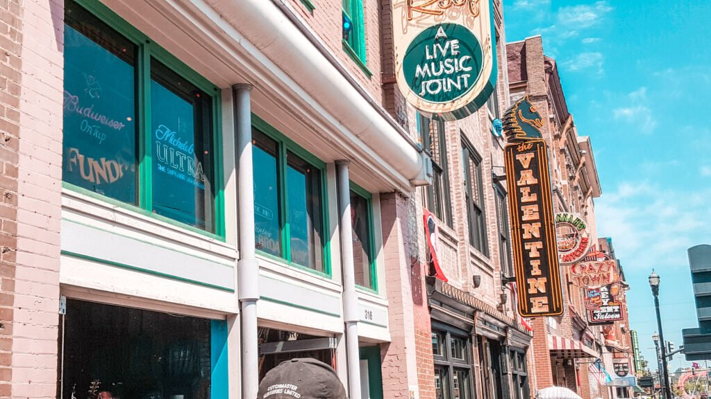 Broadway in Nashville Tennessee | One Day in Nashville for Solo Female Travelers
