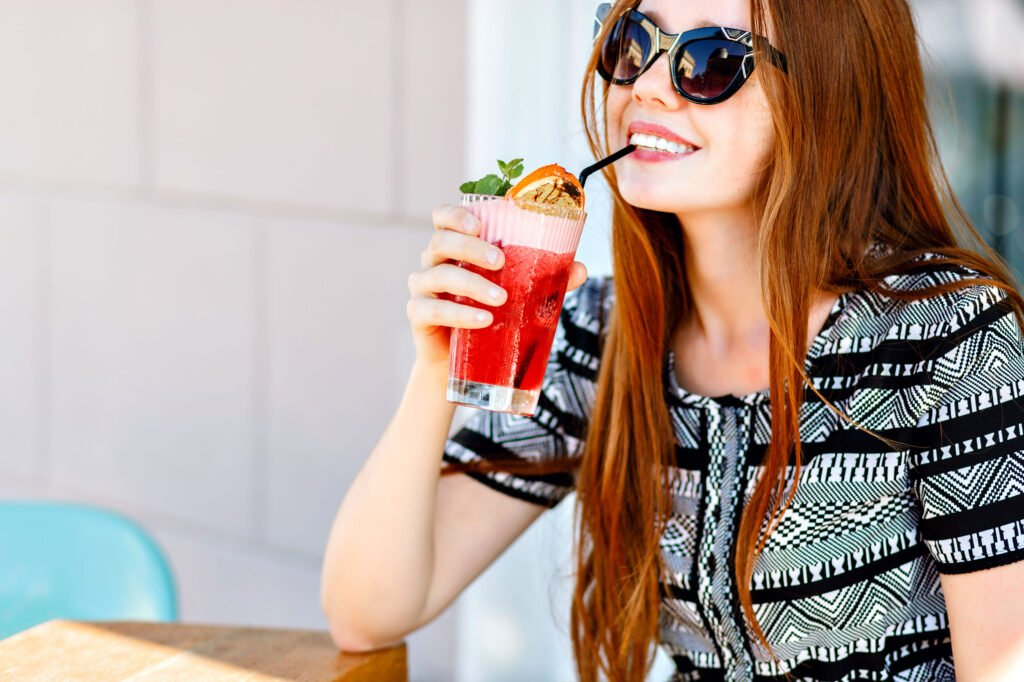 lunchtime cocktails | How to Have a Stellar Summer Staycation