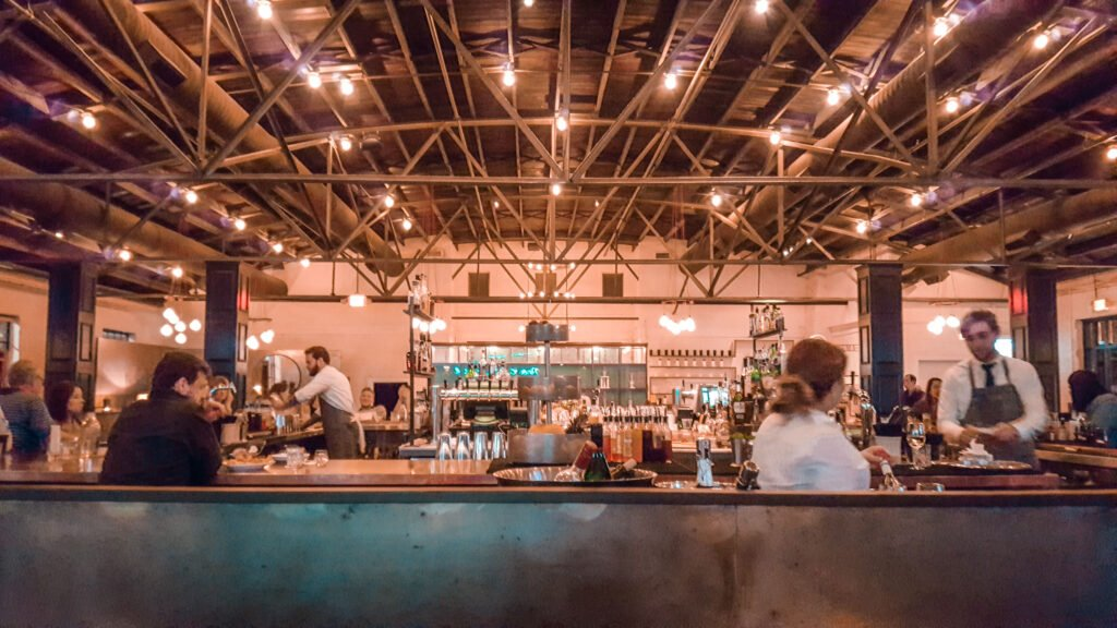 bar at Pinewood Social in Nashville Tennessee | One Day in Nashville for Solo Female Travelers