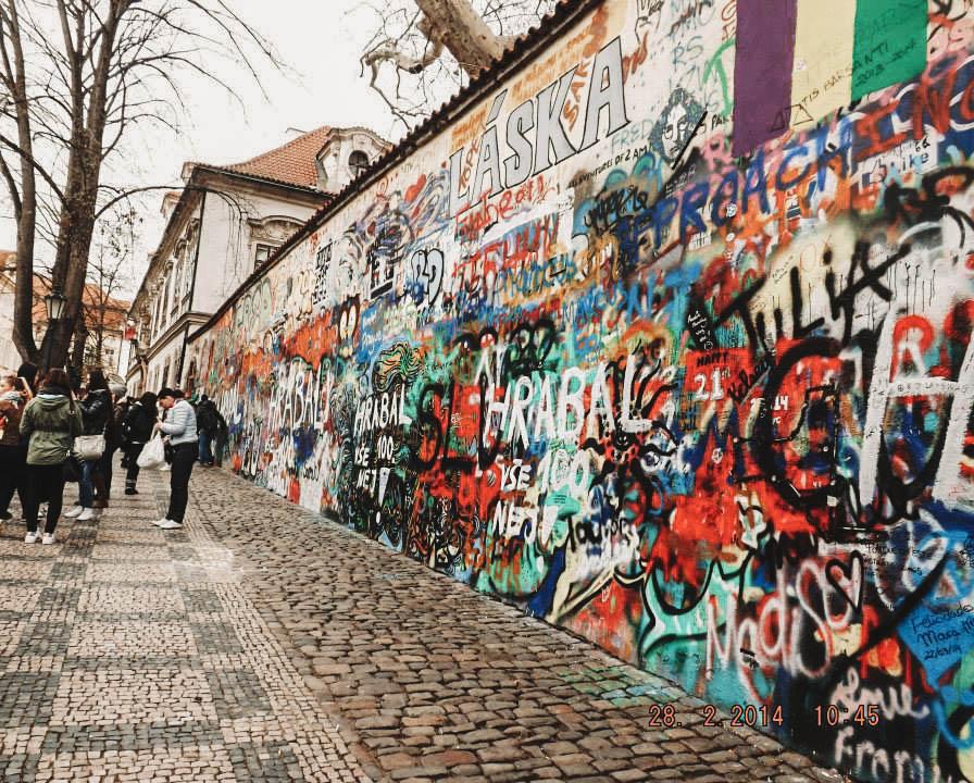 John Lennon Wall Prague | Best Street Art Cities