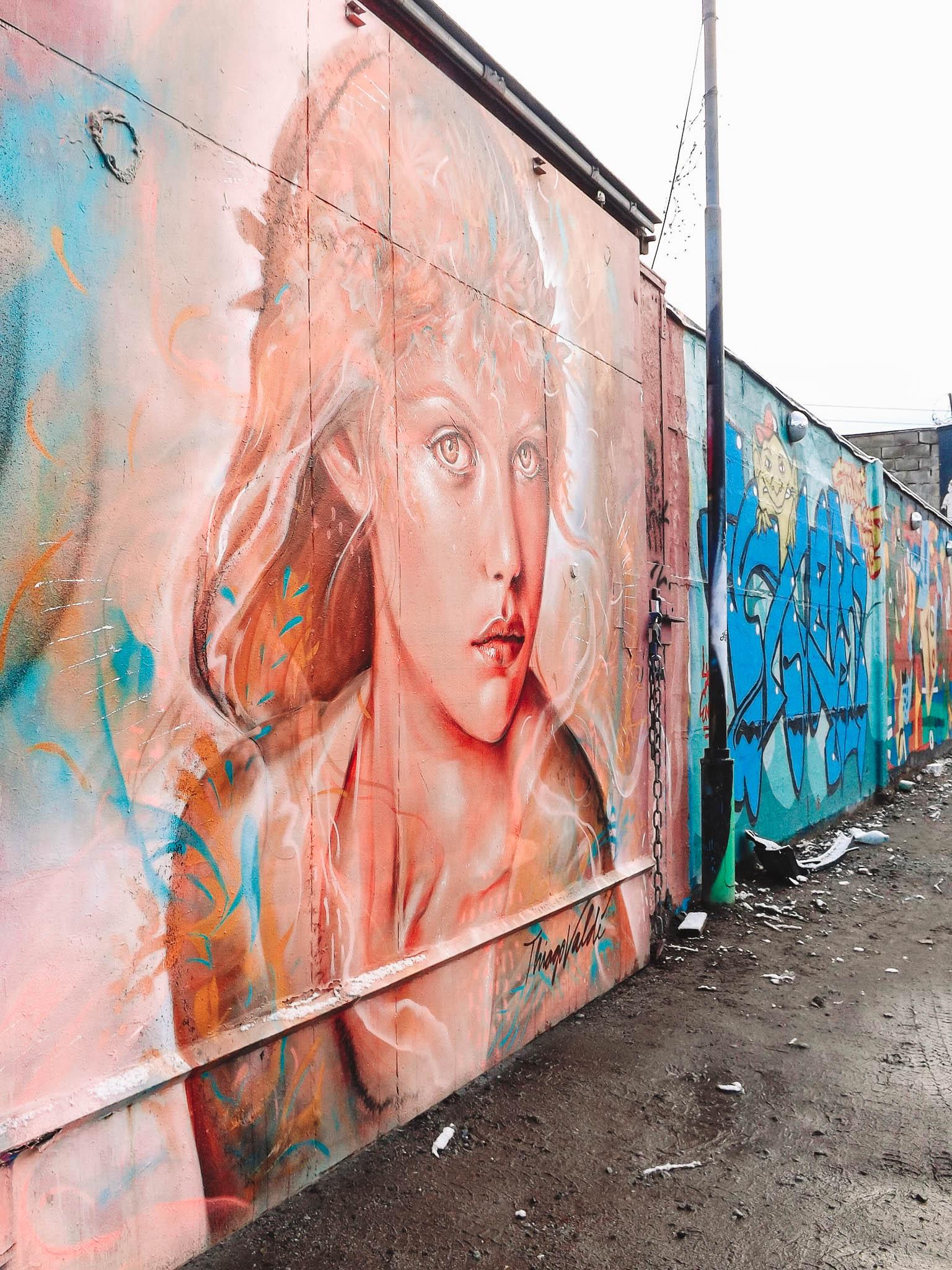 mural Snosatra graffiti park Stockholm Sweden | Best Street Art Cities