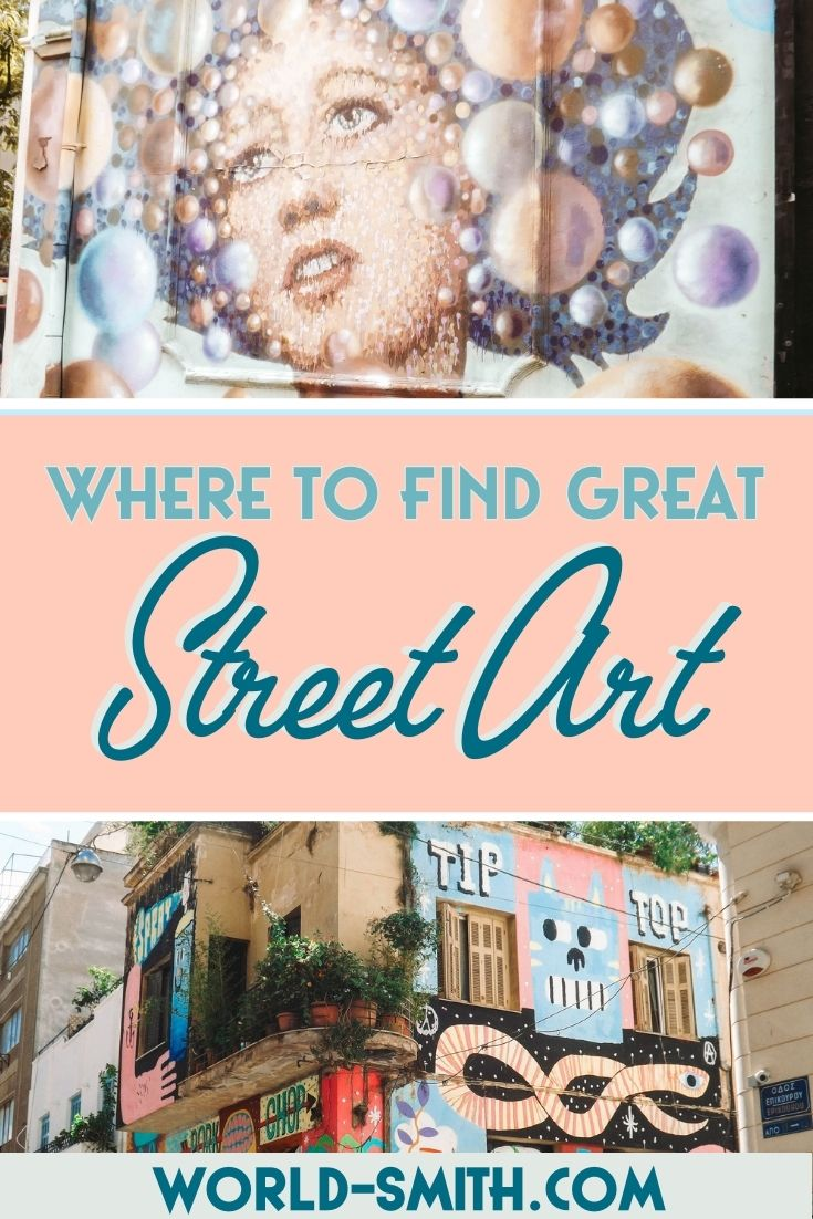 Pin this! Where to find great street art around the world