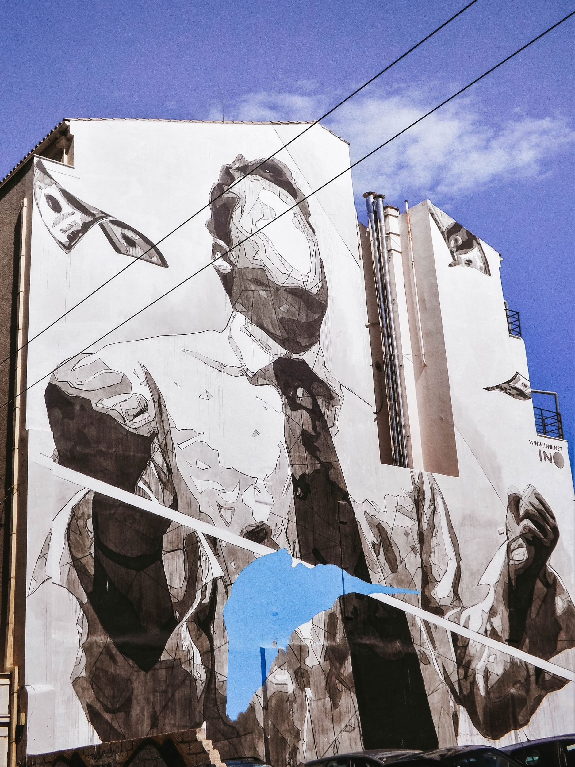 mural by INO Athens | Best Street Art Cities