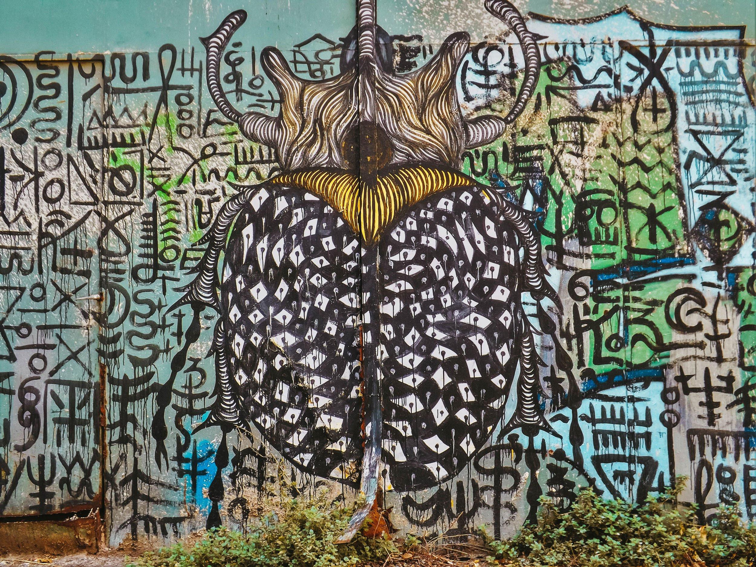 mural in Athens | Best Street Art Cities