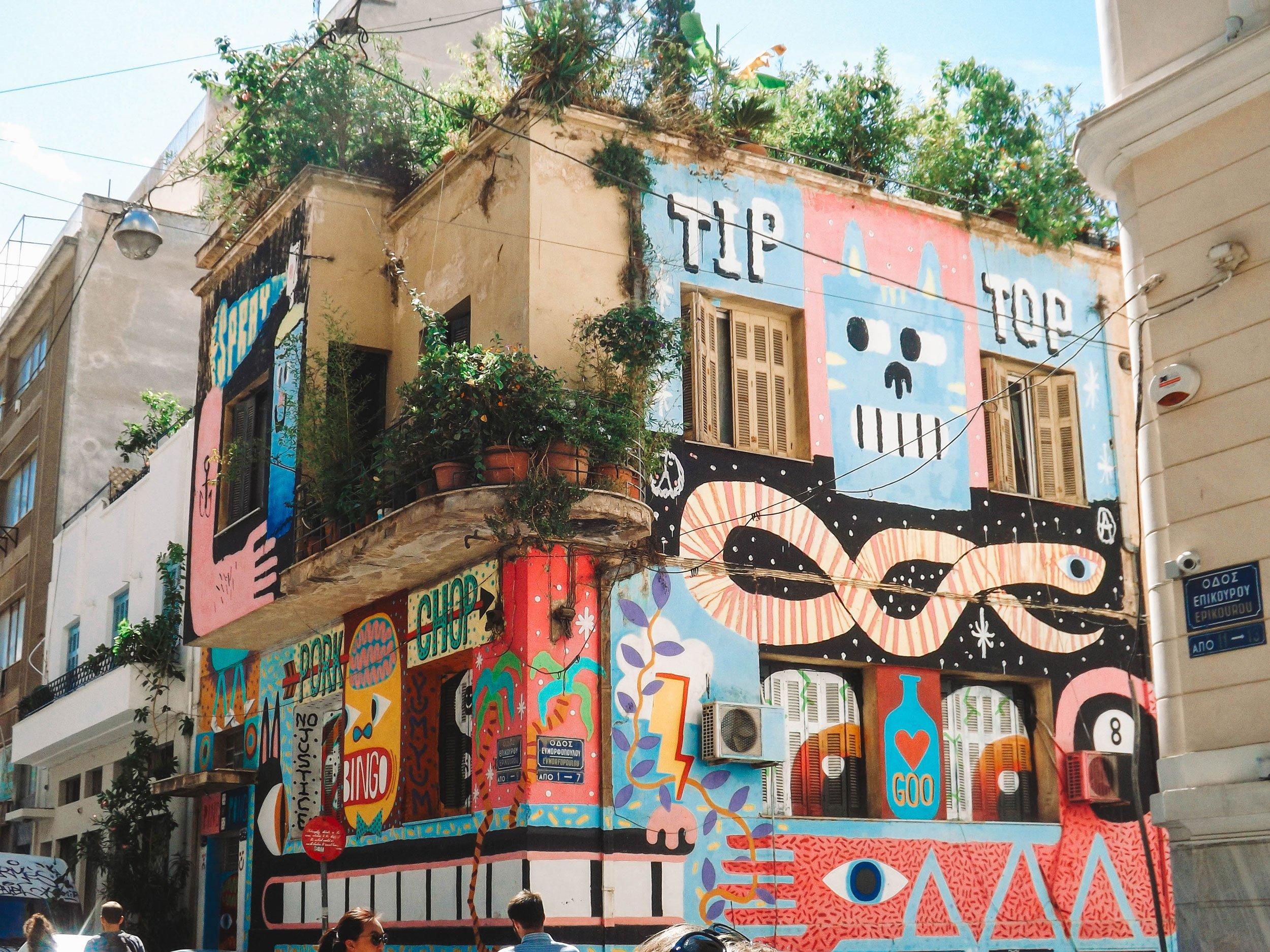 street art in Athens | Best Street Art Cities