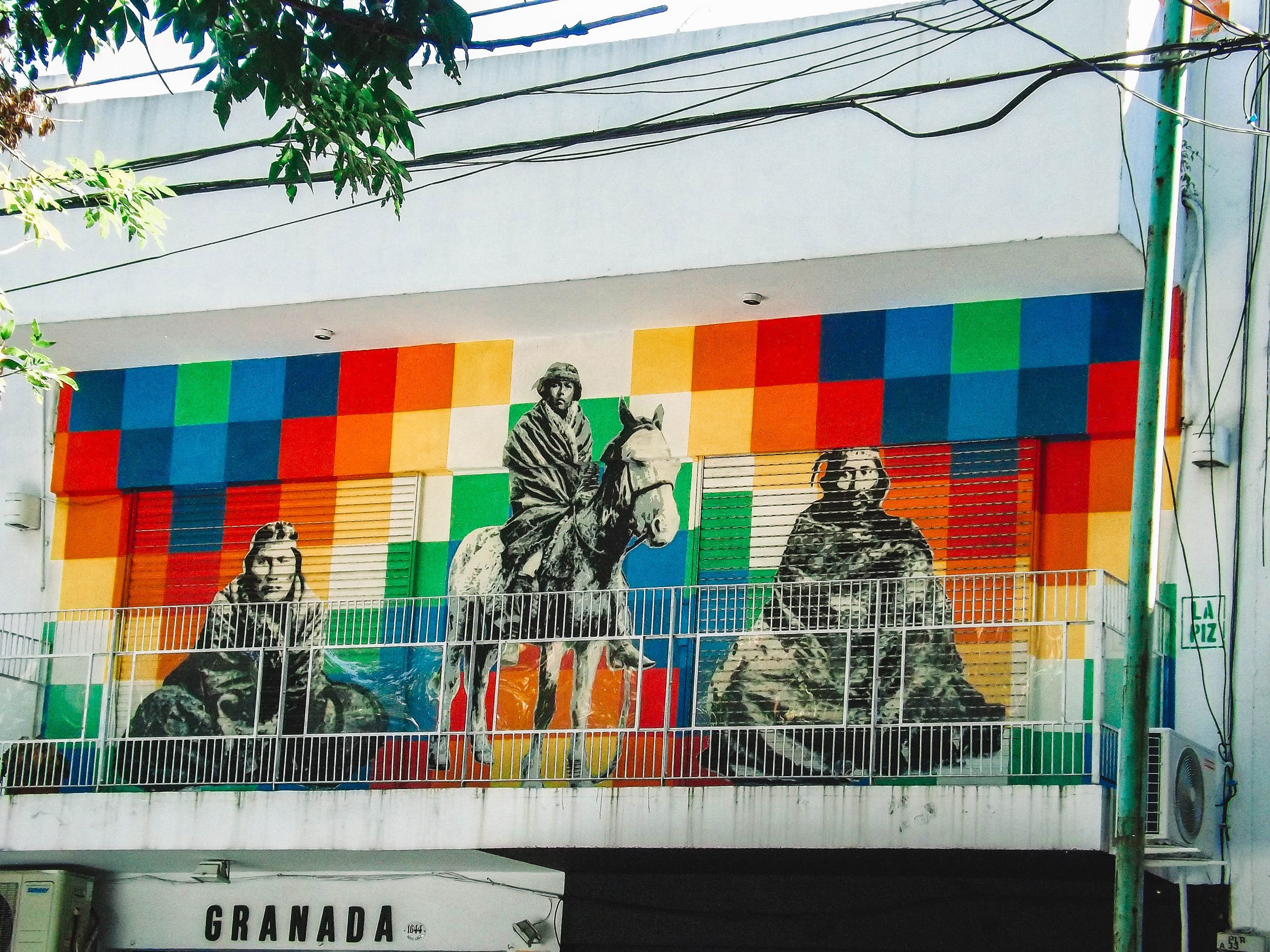 mural in Palermo Soho Buenos Aires | Best Street Art Cities