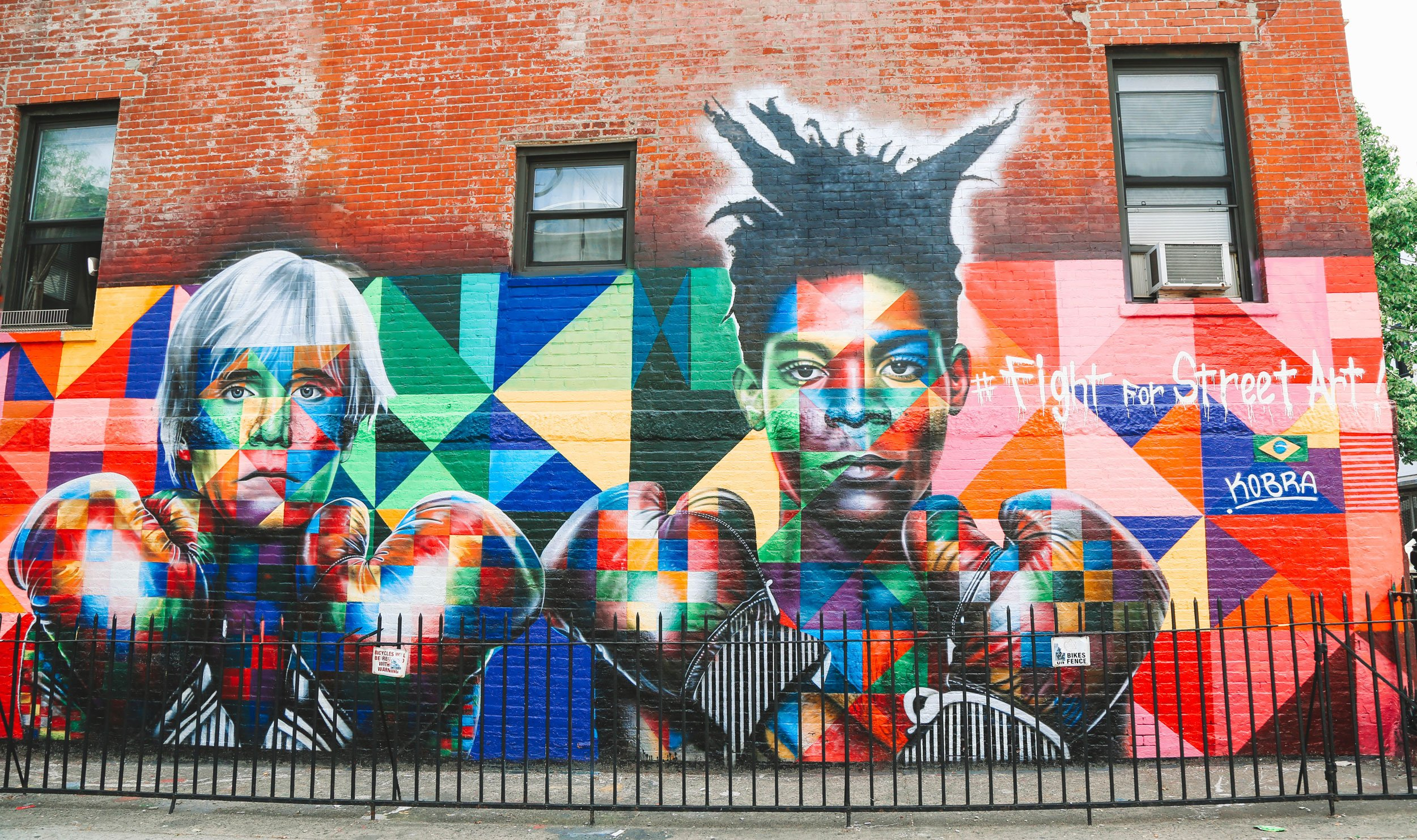 stock image of mural in Bushwick New York City | Best Street Art Cities