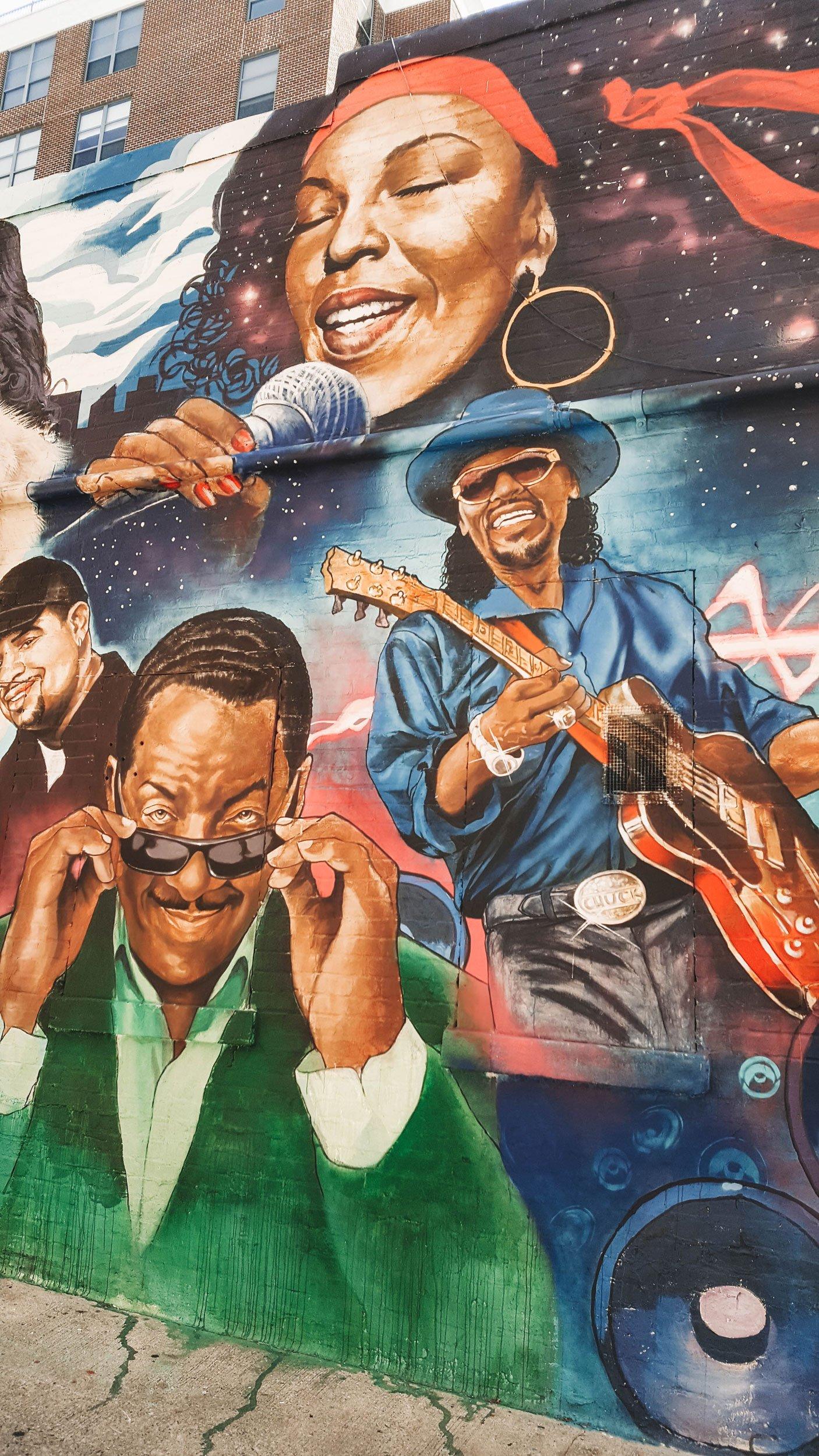 U Street mural Washington DC | Best Street Art Cities