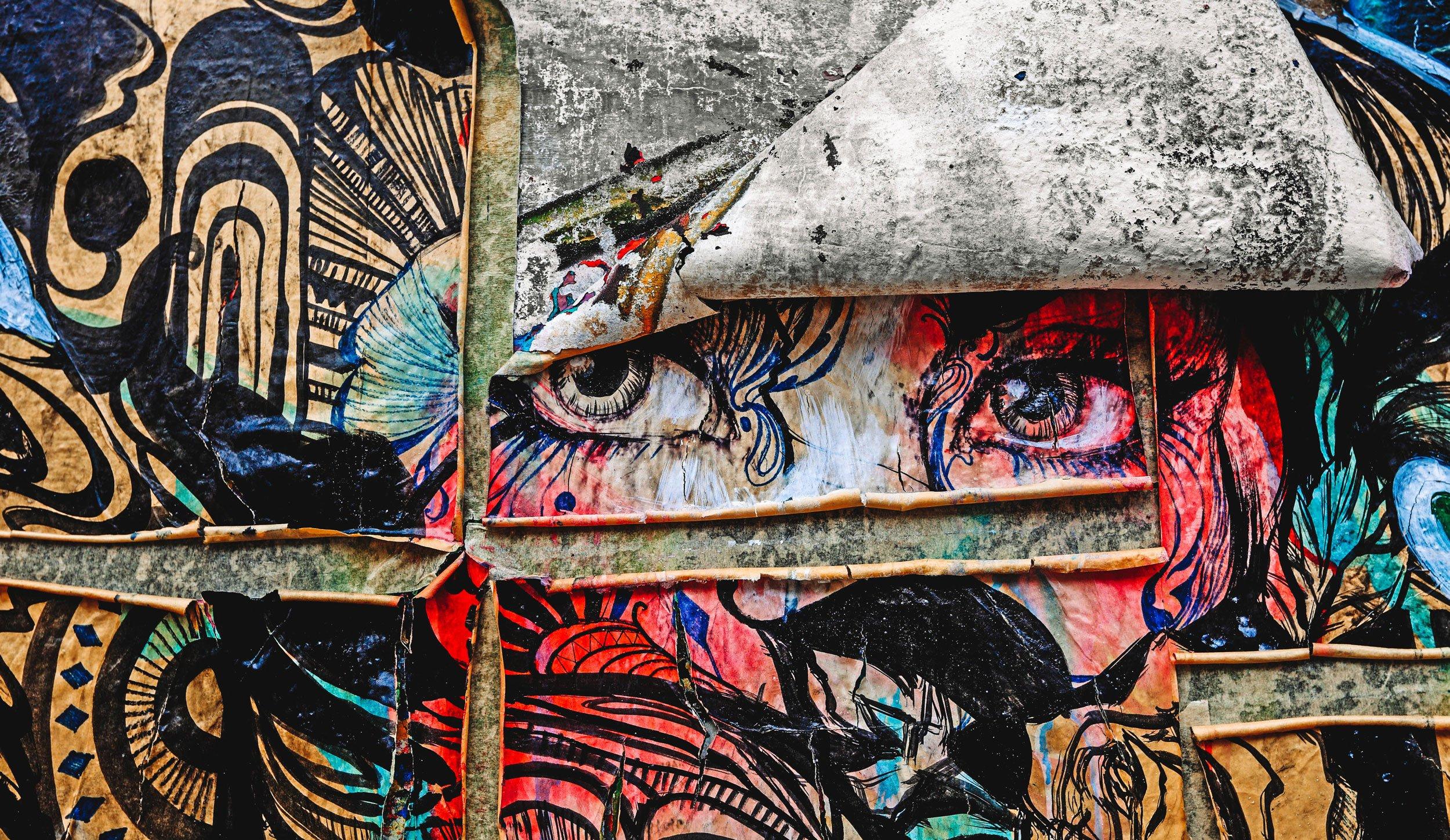 stock image of Kuala Lumpur Malaysia mural | Best Street Art Cities