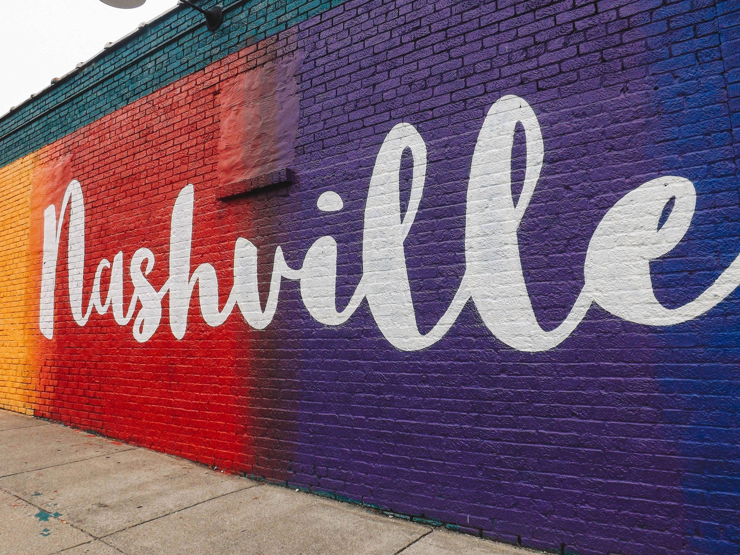 mural 12South Nashville | Best Street Art Cities