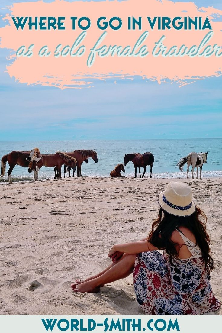 Pin this! Where to go in Virginia for solo female travelers