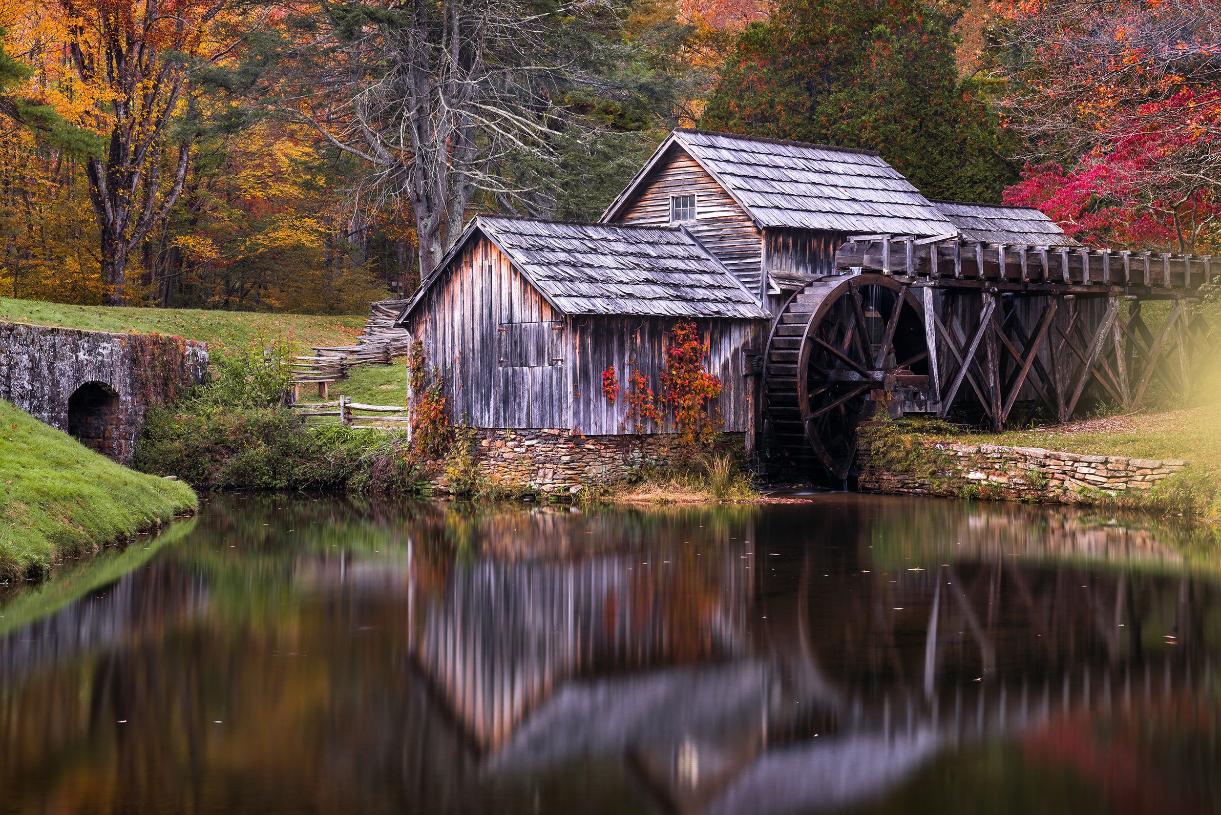 Mabry Mill in Blue Ridge | Best Time to Visit Virginia