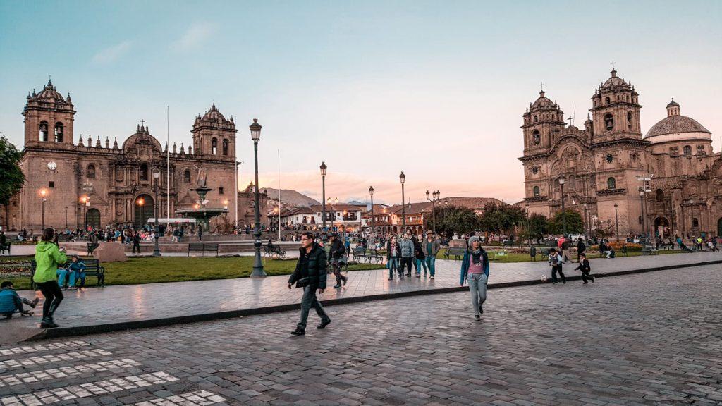 Plaza de Armas in Cusco Peru | 2 Weeks in Peru for Solo Female Travelers