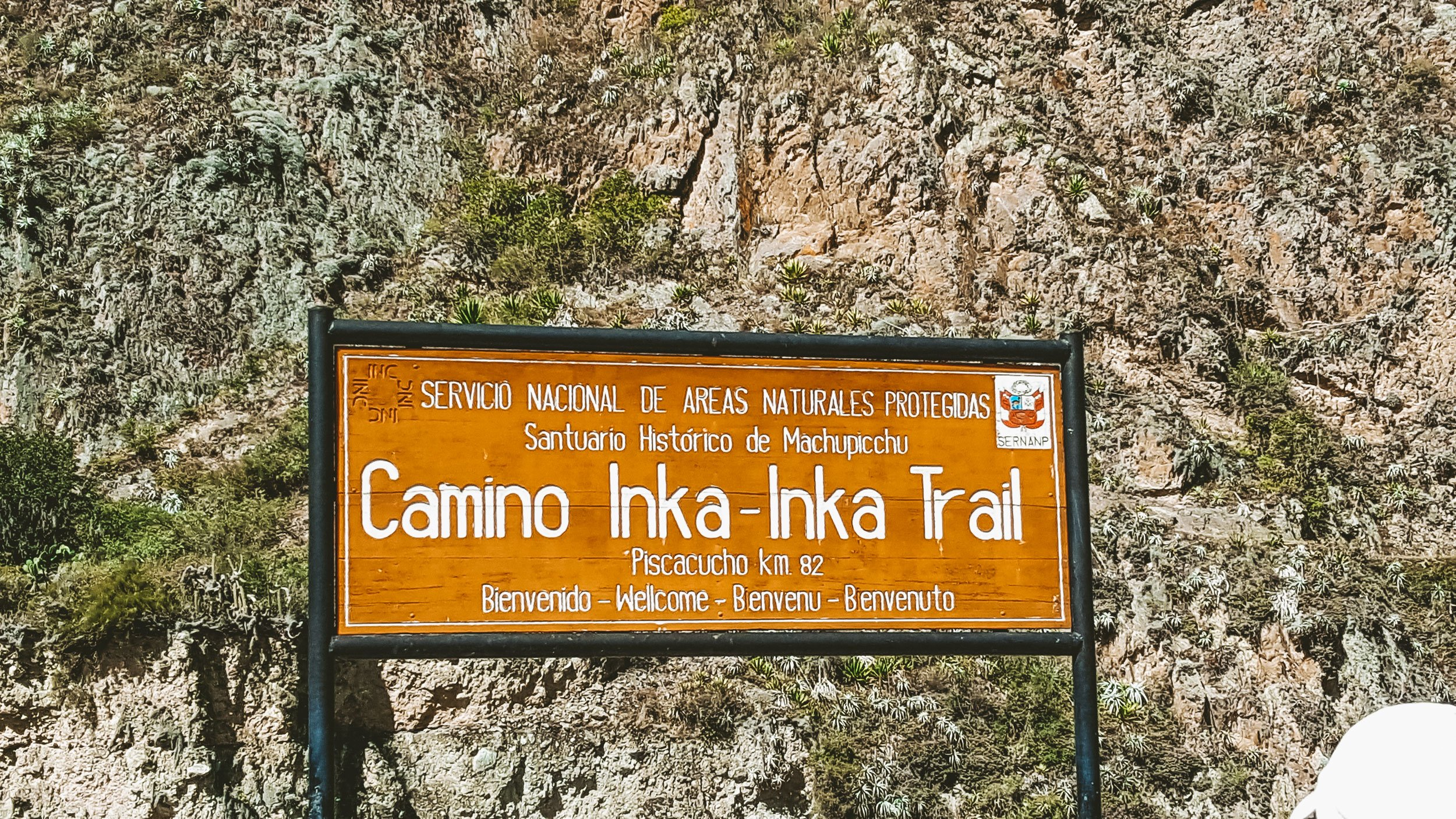 KM82 entrance to Inca Trail | How to Hike the Inca Trail as a Solo Female Traveler