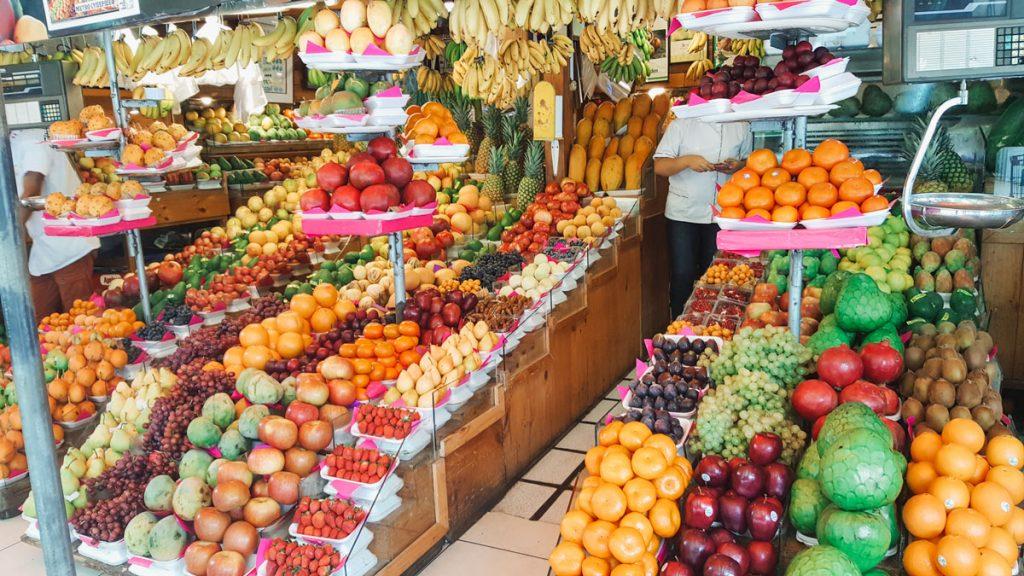Fruiteria Ortiz mercado Lima Peru food tour | 2 Weeks in Peru for Solo Female Travelers