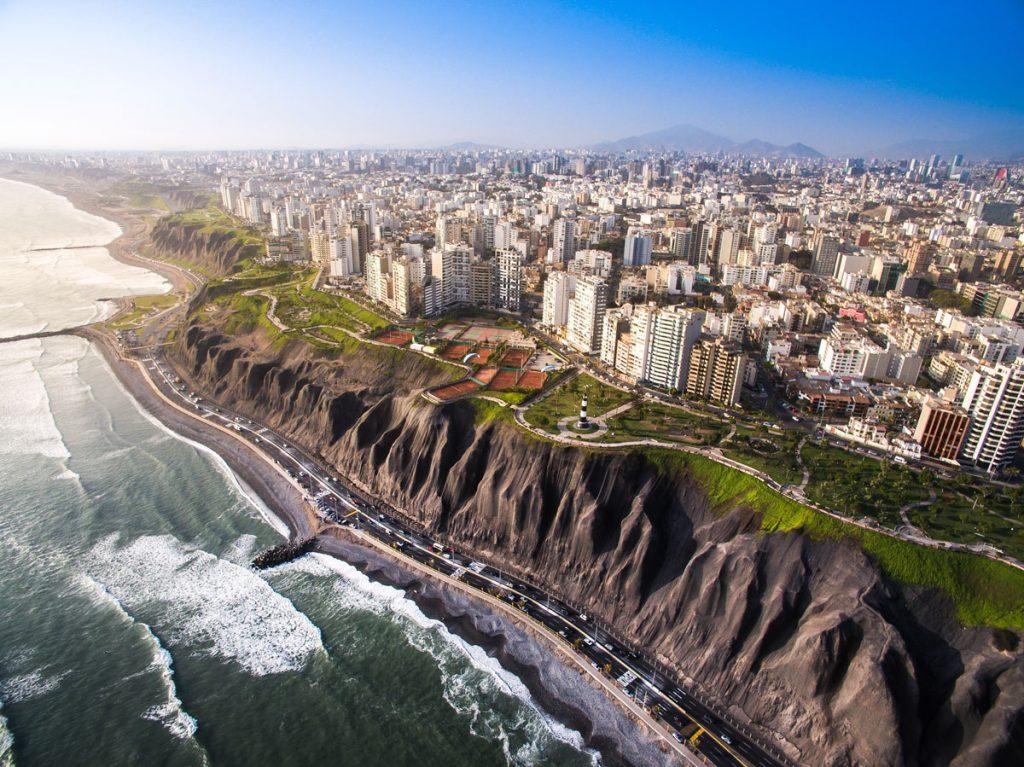 Lima Peru aerial | 2 Weeks in Peru for Solo Female Travelers