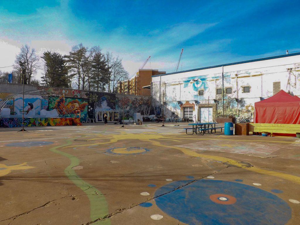 IX Art Park in downtown Charlottesville Virginia