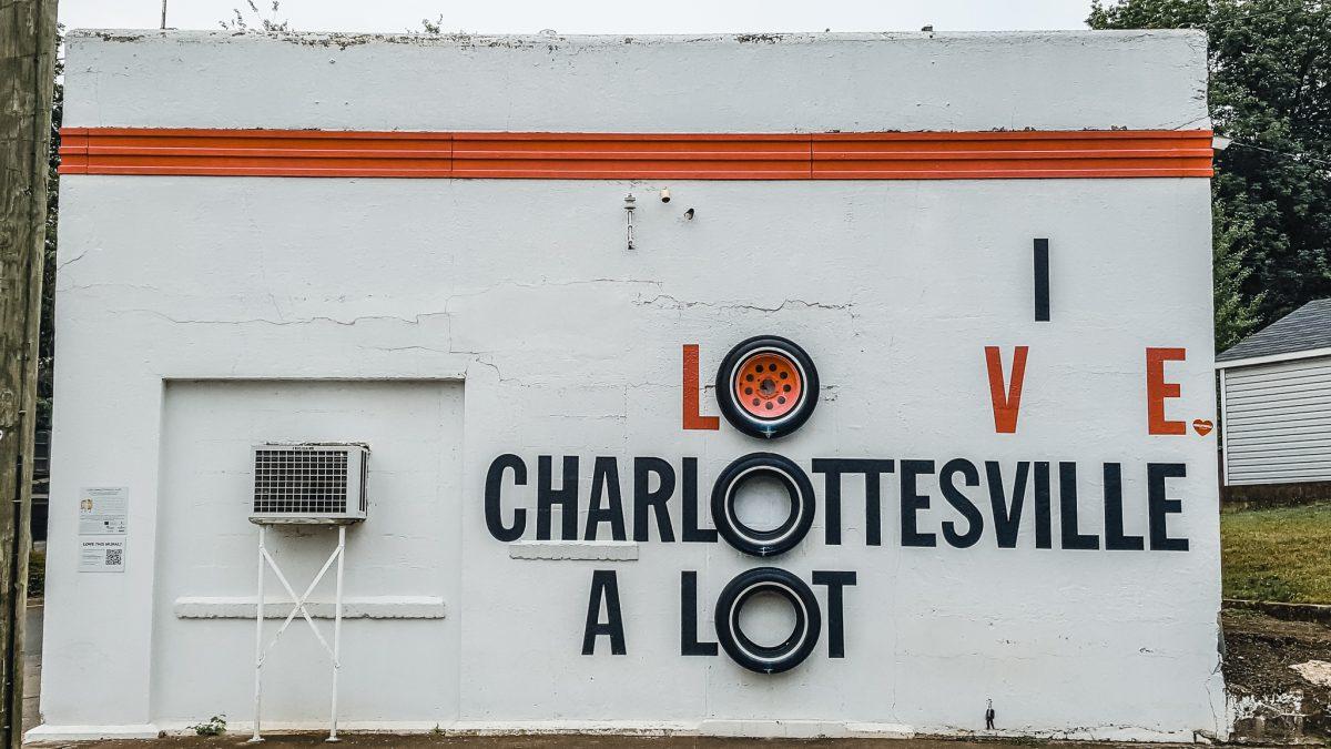 I Love Charlottesville A Lot | Charlottesville Mural Mile