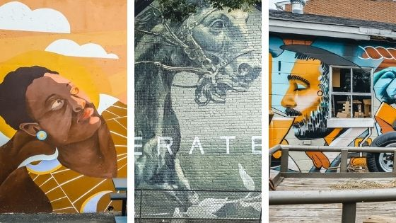 Walking Tour of the Charlottesville Mural Mile
